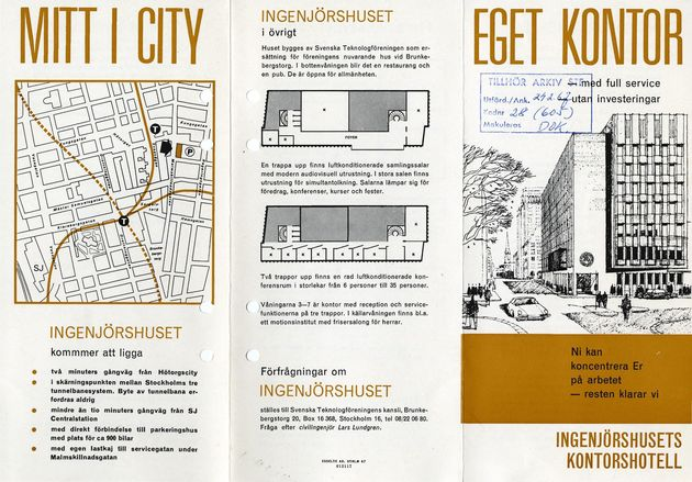 Preview of file webb_STF_Broschyr_IngenjorshusetsKontorshotell_1967.pdf at http://www.ingenjorshistoria.se/share/proxy/alfresco-noauth/tam/content/workspace/SpacesStore/6129e12b-95b6-4840-b1b3-1d46e3c7167d with style overlay_preview is not available.