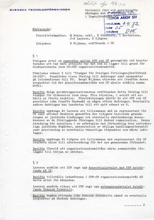Preview of file webb_STF_Presidieprotokoll_1972_09_04.pdf at http://www.ingenjorshistoria.se/share/proxy/alfresco-noauth/tam/content/workspace/SpacesStore/6cb0bfc7-450f-4b59-8ae6-28e41f4ad2c3 with style overlay_preview is not available.