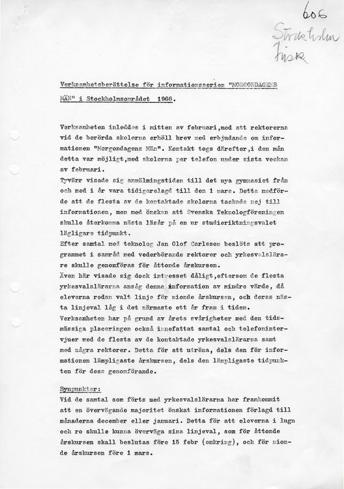 Preview of file webb_STF_MorgondagensMan_Verksamhetsberattelse_Frisk_1966.pdf at http://www.ingenjorshistoria.se/share/proxy/alfresco-noauth/tam/content/workspace/SpacesStore/9755f42d-a388-4628-b0df-7a0eadc2abdd with style overlay_preview is not available.