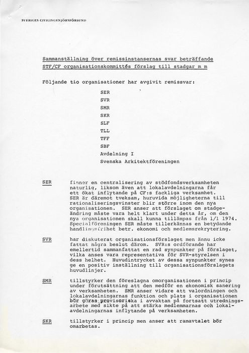 Preview of file webb_713_Remissvar_STF_CF_organisationskommittes_stadgeforslag.pdf at http://www.ingenjorshistoria.se/share/proxy/alfresco-noauth/tam/content/workspace/SpacesStore/c99268f0-3d6d-45ed-a3ab-5a0c070c460f with style overlay_preview is not available.