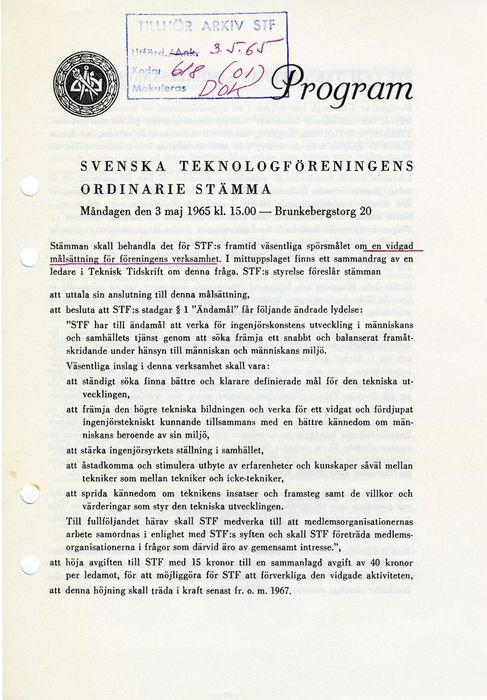 Preview of file webb_719_F2i_2_Program_Stamma_STF_1965_05_03.pdf at http://www.ingenjorshistoria.se/share/proxy/alfresco-noauth/tam/content/workspace/SpacesStore/d91051e4-21da-4a07-9b27-b9d370e1a1ef with style overlay_preview is not available.